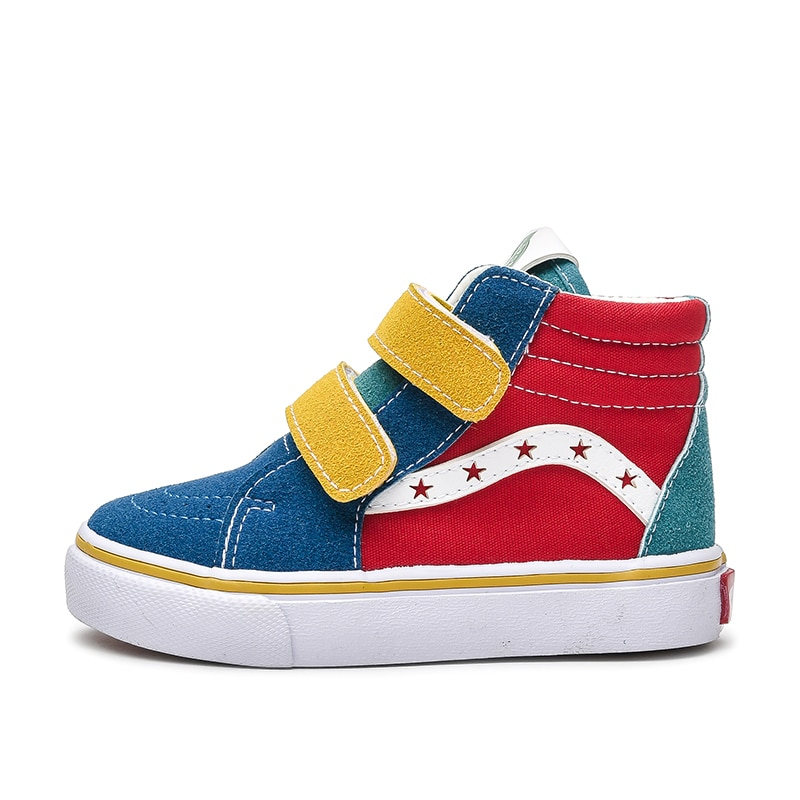 Children Sneakers Casual Kids Shoes Fashion Brand High Top Baby Boys Girls Canvas Shoes Breathable T