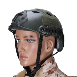 Wholesale Multicam Camouflage Helmet Military Tactical Protective Paintball Wargame Helmet Army Airsoft Tactical FAST Helmet