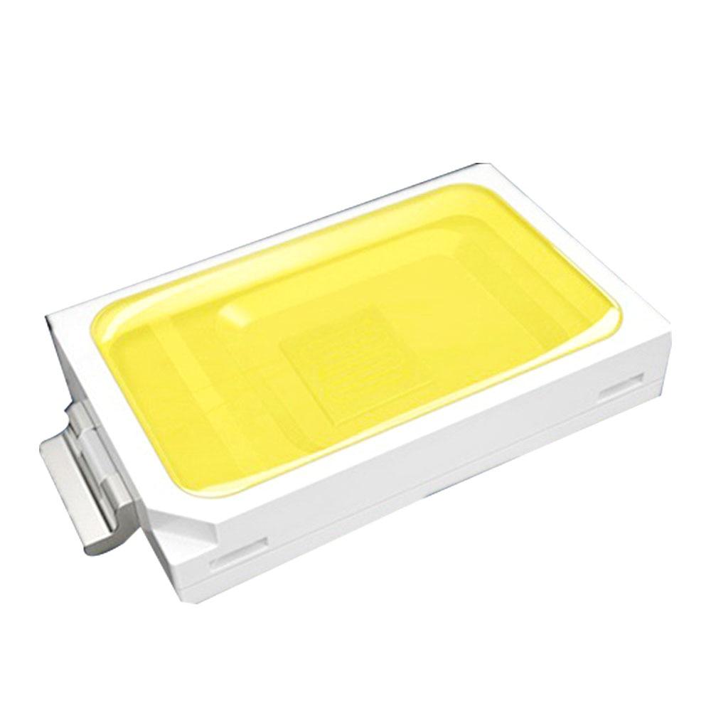 100PCS um lote SMD5730 60-65LM LED Light Emitting Diod 0.5W de Alta Qualidade LED Chip Superbright LEVOU Contas 3.3V Suporte de Cobre Puro