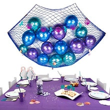 Ocean pirate Mermaid Beach Theme wedding birthday Party baby shower Gender Reveal table runner centerpiece decoration background