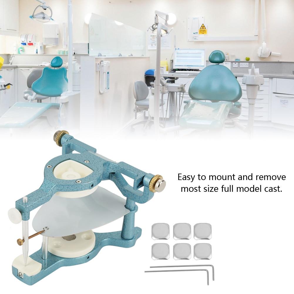 9 в 1 Стоматологическая лаборатория большой размер полный рот Регулируемый магнитный артикулятор оборудование Легкое крепление удаление б...
