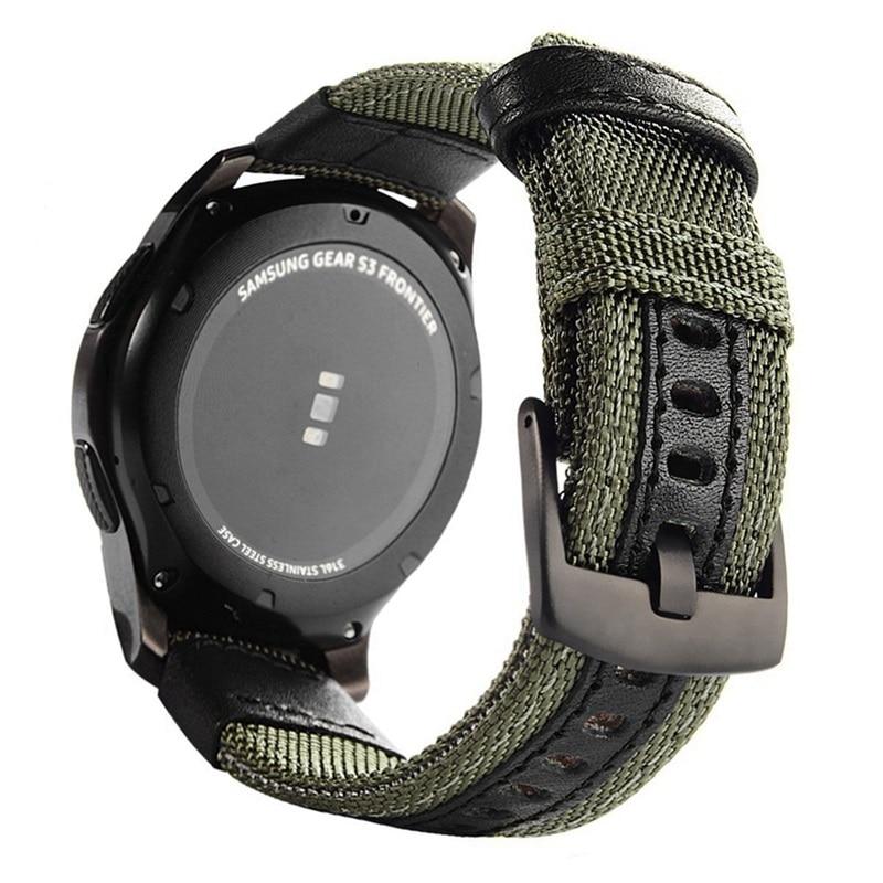 Nylon Armband Für huami Amazfit GTR 47mm Band Für Xiaomi Amazfit tempo Stratos 3 2 2S armband armband für garmin vivoactive 4