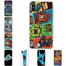 Skateboard Skate Santa Cruz Soft Phone For Xiaomi Mi Mix Max Note 2 2S 3 5X 6 6X 8 9 9T SE A1 A2 A3 CC9e Lite Play Pro F1