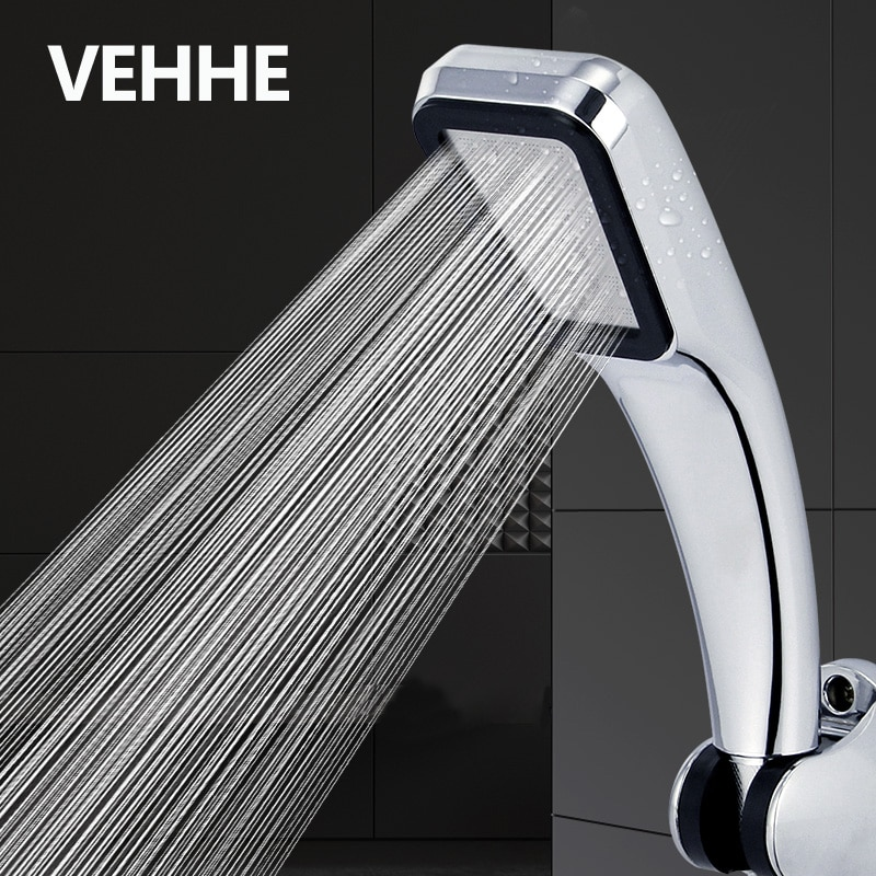 VEHHE 300 отверстий с функцией экономии воды под высоким давлением насадка для душа Фильтр ABS хром спрей мощная насадка панель аксессуары для ванной комнаты