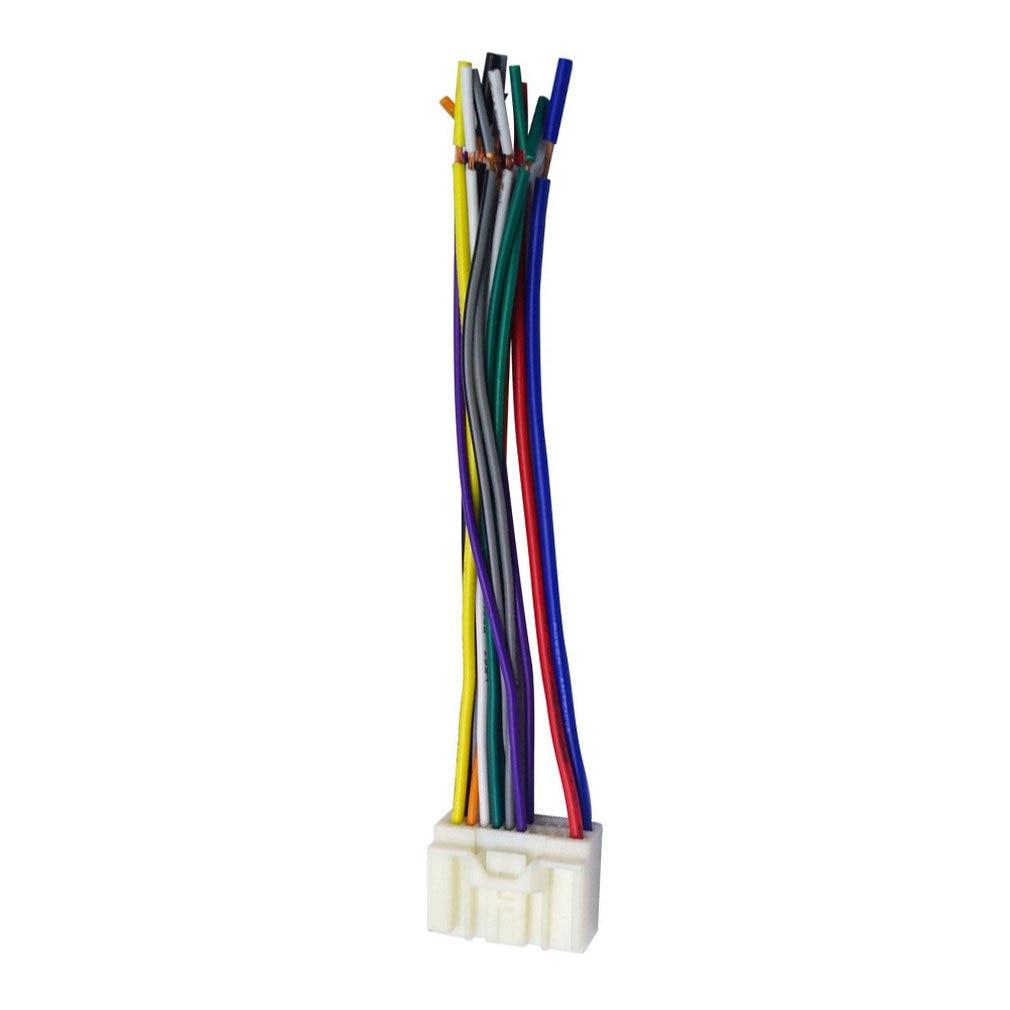 For Mitsubishi ISO WIRING HARNESS radio plug lead wire loom connector adaptor