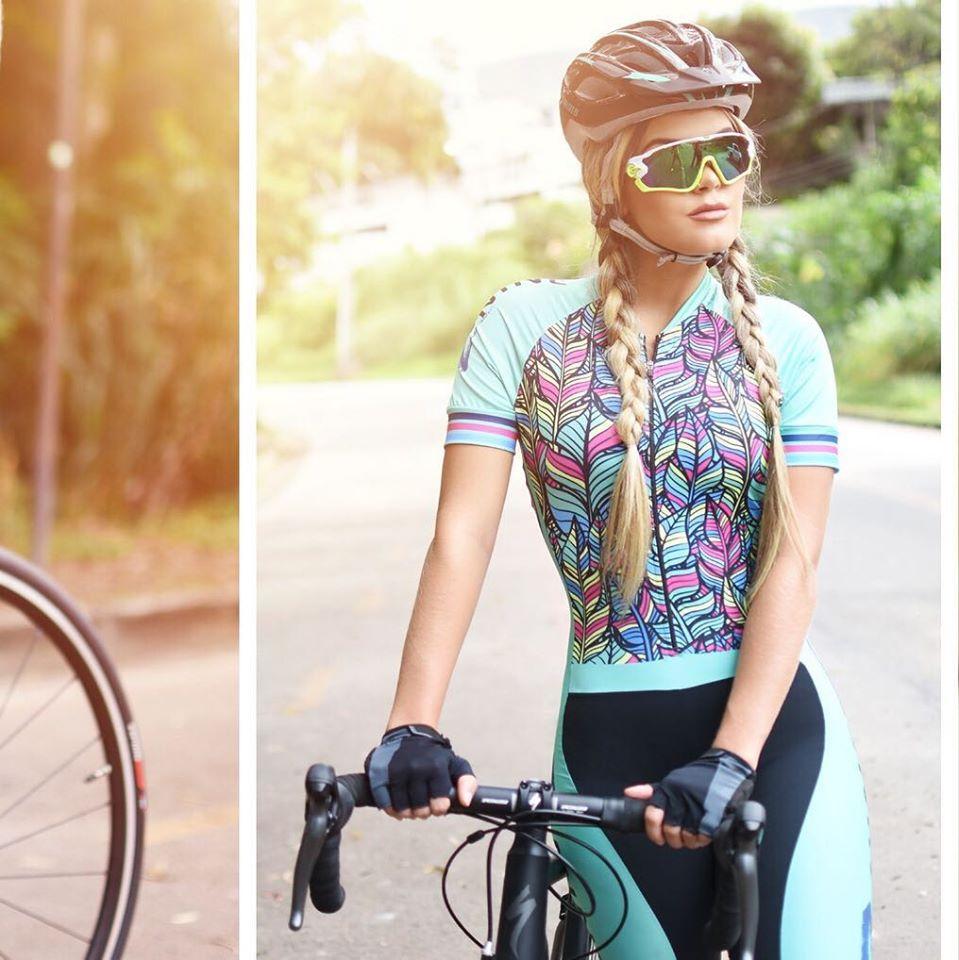 2019 Pro Team triatlón traje de mujer negro ciclismo Jersey Skinsuit Maillot ciclismo Ropa ciclismo set gel