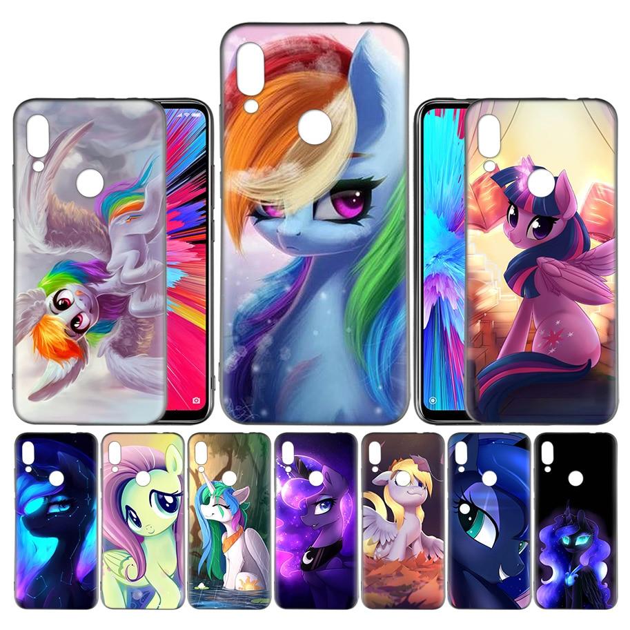 Coque Case for Xiaomi Mi 9 9T A3 Lite Redmi Note 7 K20 CC9e 6 5 7A 6A F1 Pro Cover Phone Bags Shell Magic My Little Pony