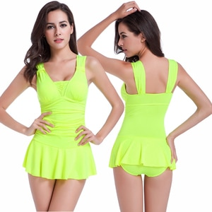 Popular Double Shoulder With Movable Knot Push Up Bathing Suits 2020 Hip - Up Sexy One Piece Swimsuit Pretty Girls Swimwear