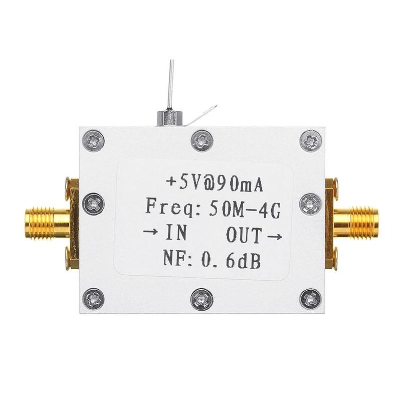 IG-RF amplificador de bajo ruido de Radio de jamón para LNA 50M-4GHz NF = 0.6DB RF FM HF VHF / UHF Radio de jamón-110DBm