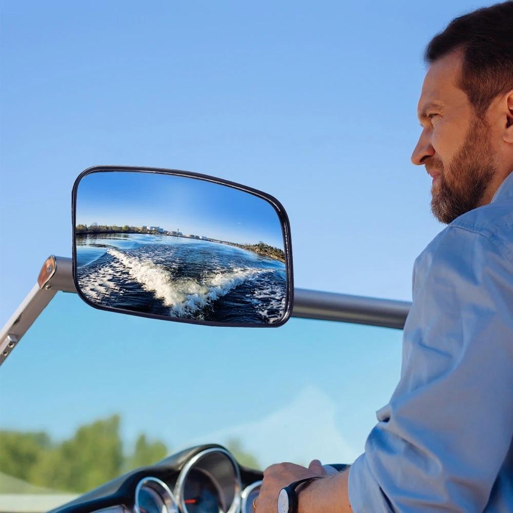 قارب مرآة العالمي البحرية مرآة الرؤية الخلفية ل جت سكي قارب المائية المائية تصفح لياماها البحر دو لكاواساكي