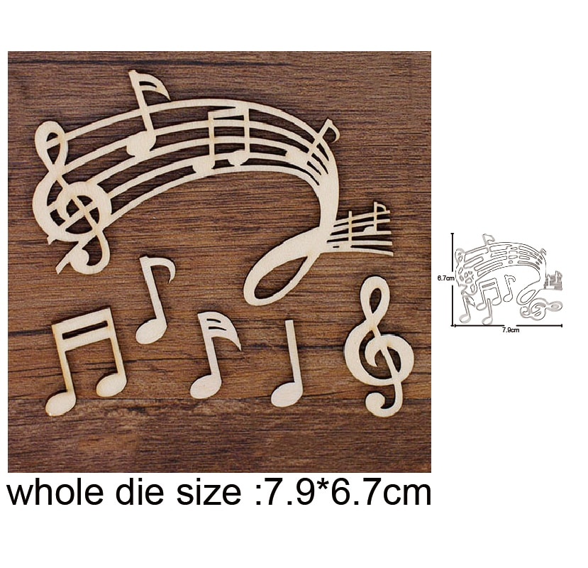 aliexpress.com - musical instrument Metal Cutting Dies Embossing Scrapbooking Stencil Craft Cut Dies For DIY Card Crafts