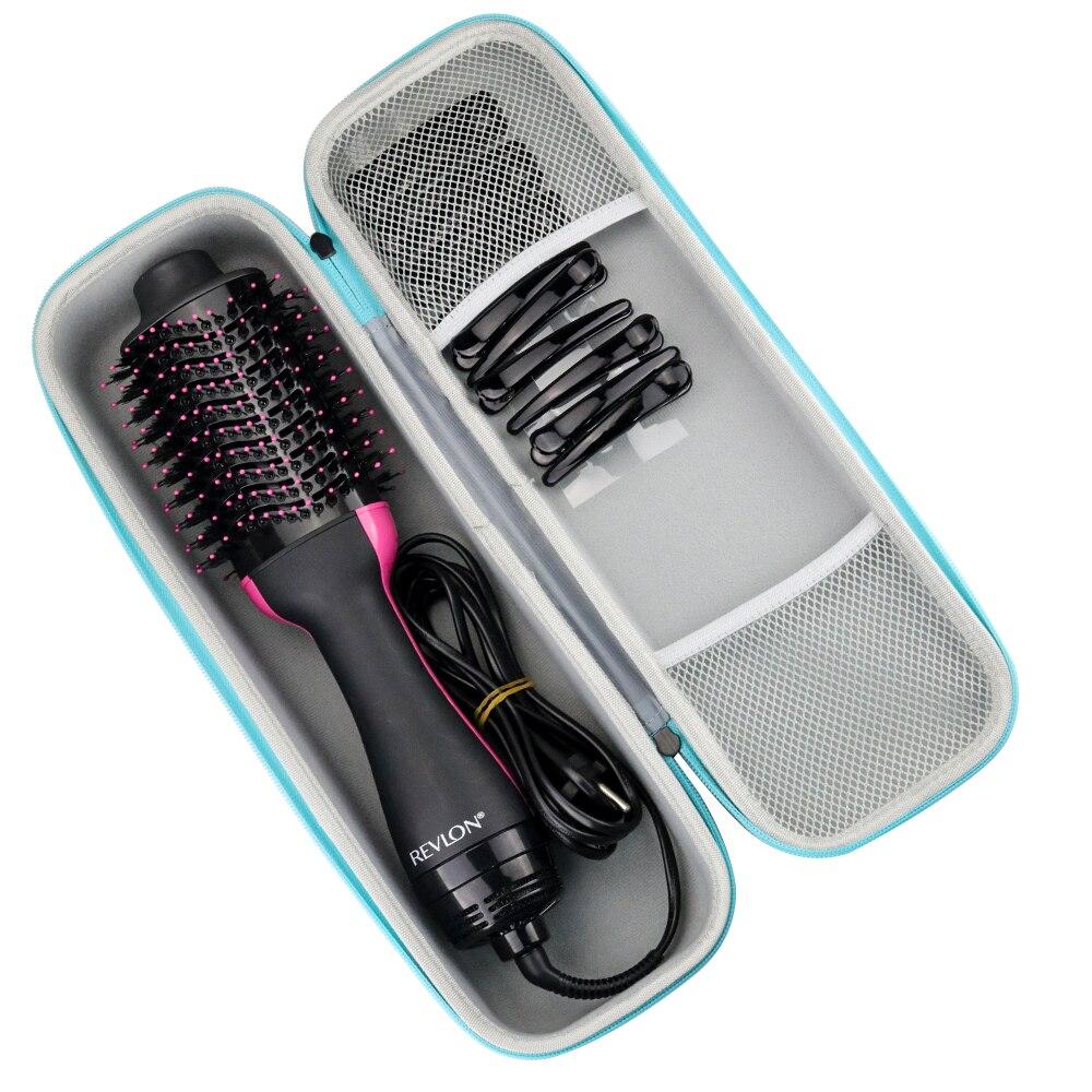 2019 новейший жесткий портативный чехол EVA для путешествий, одношаговый фен для волос, объемный фен, стайлер и аксессуары
