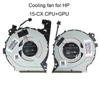 computer fans for hp pavilion 15 cx cx0049nr cx0071nr cx0061tx cpu cooling fan l20334 l20335 001 tpn c133 laptop cooler radiator