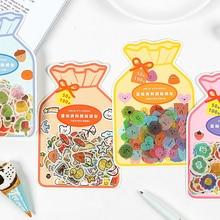 Mohamm 1Pcs Cute Days Series Cute Japanese Paper Sticker Creative Scrapbooking Stationary School Supplies