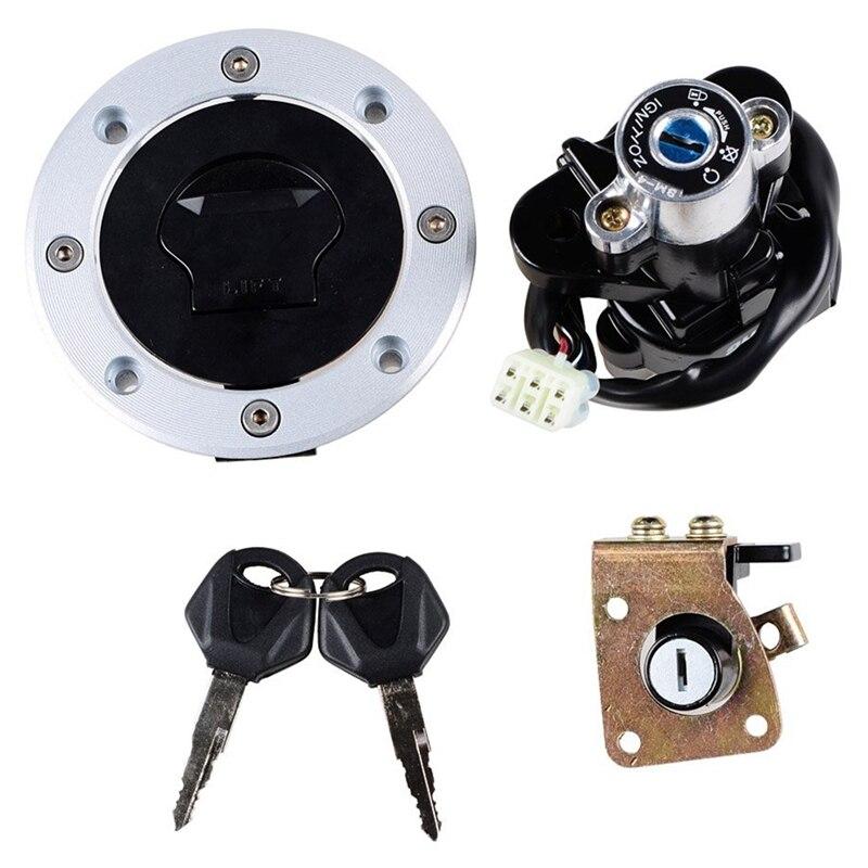 Interruptor de encendido, llave de bloqueo de tapa de Gas para Suzuki GSXR 600/750/1000 01-02 DL1000