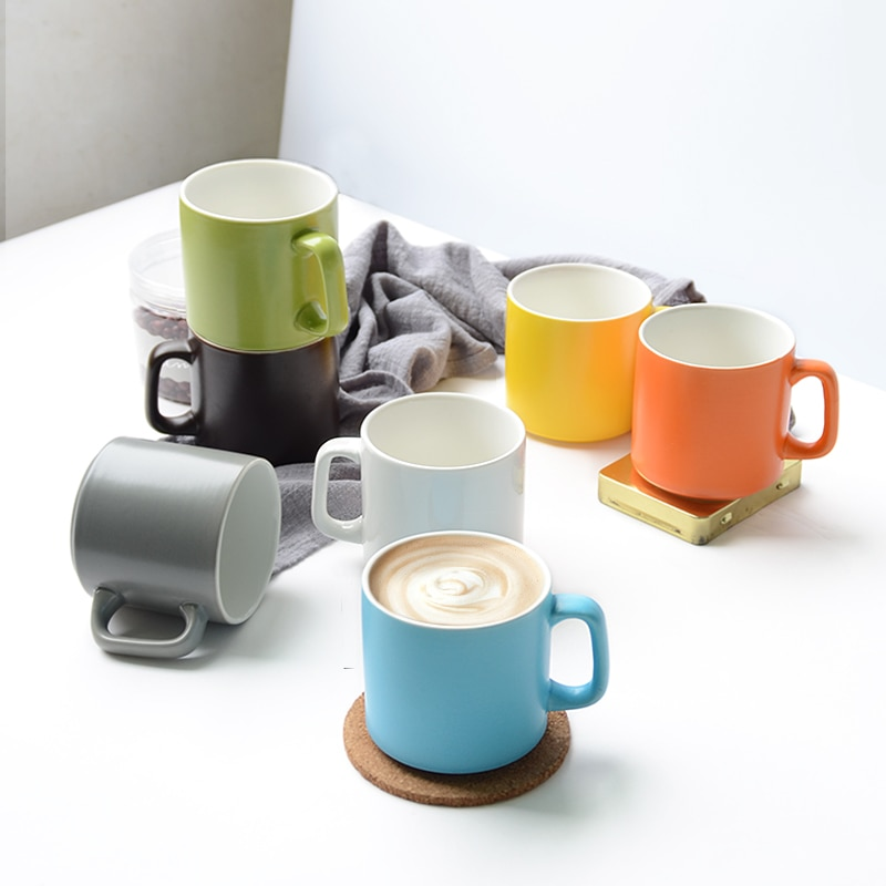 Tazas de café únicas creativas de porcelana personalizadas taza de café de viaje de cerámica amigos taza de café taza de Navidad 50mkb001