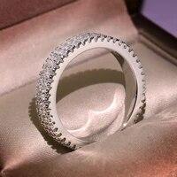 diwenfu 14k white gold fl diamond ring box for women fine anillos de bizuteria wedding natural gemstone 14 k gold jewelry rings