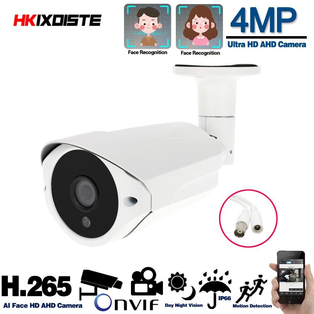 Nuevo Super AHD cámara HD 4MP vigilancia al aire libre interior impermeable 36 Uds sistema de cámaras analógicas de seguridad infrarroja con soporte