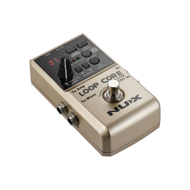 Nux Loop Core Deluxe Guitar Effect Pedal Looper Electric Guitar Processor Pedalboard Guitar Parts 8H 40 Drum True Bypass enlarge