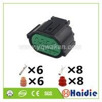 Free shipping 2sets tyco 14pin auto plastic cable connector Kia K2K3K5 headlight wiring harness waterproof plug GL301-14021