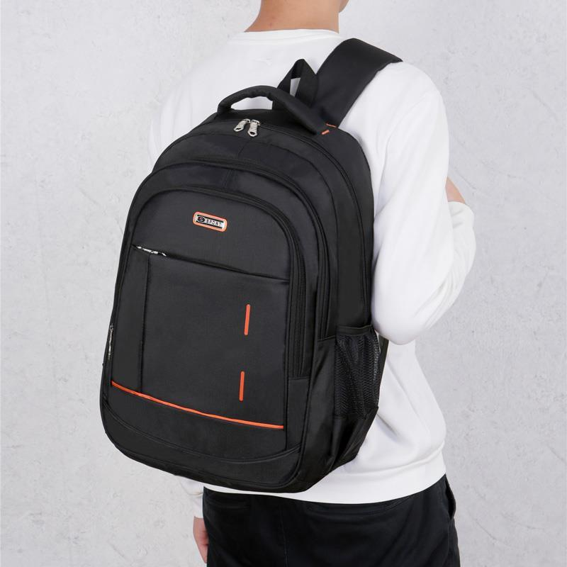 backpack men s korean wave casual backpack men s bags computer bags large and medium sized student bags fashion travel bags Male New Fashion Travel School Bags For Teenager Backpack College Notebook Computer Large Capacity Men Hot Sell Bags