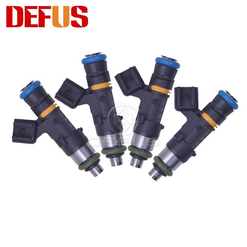 1/4/6/8/12/PCS Alta Qualidade 450CC 20 42lb Injector De Combustível 0280158117 EV14 E85 Para Passat 1.8T 5.7L 0 Chevy Pontiac 280 158 117