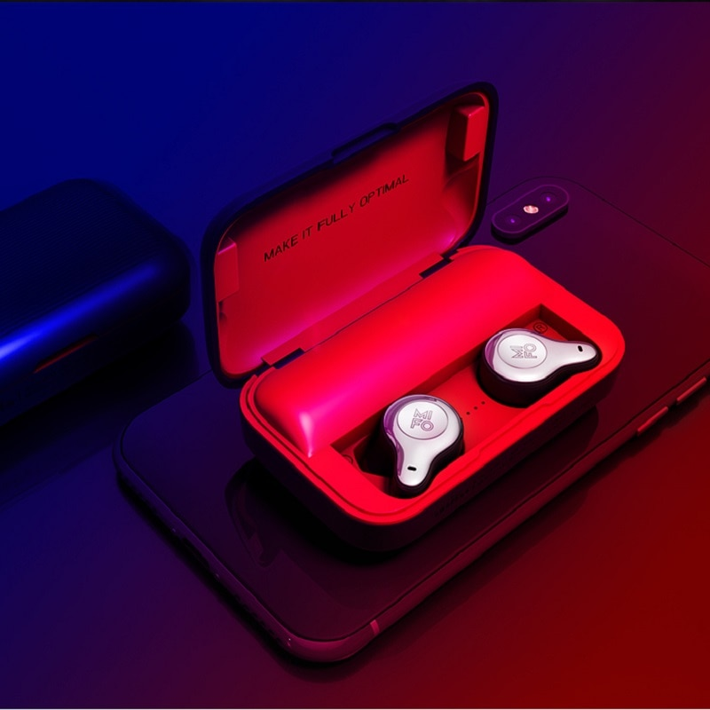Mifo O2 TWS 5.0 Bluetooth True Wireless Earphones Earbuds Touch Control Sport Earphone 3D Stereo Bass with Charging Box enlarge