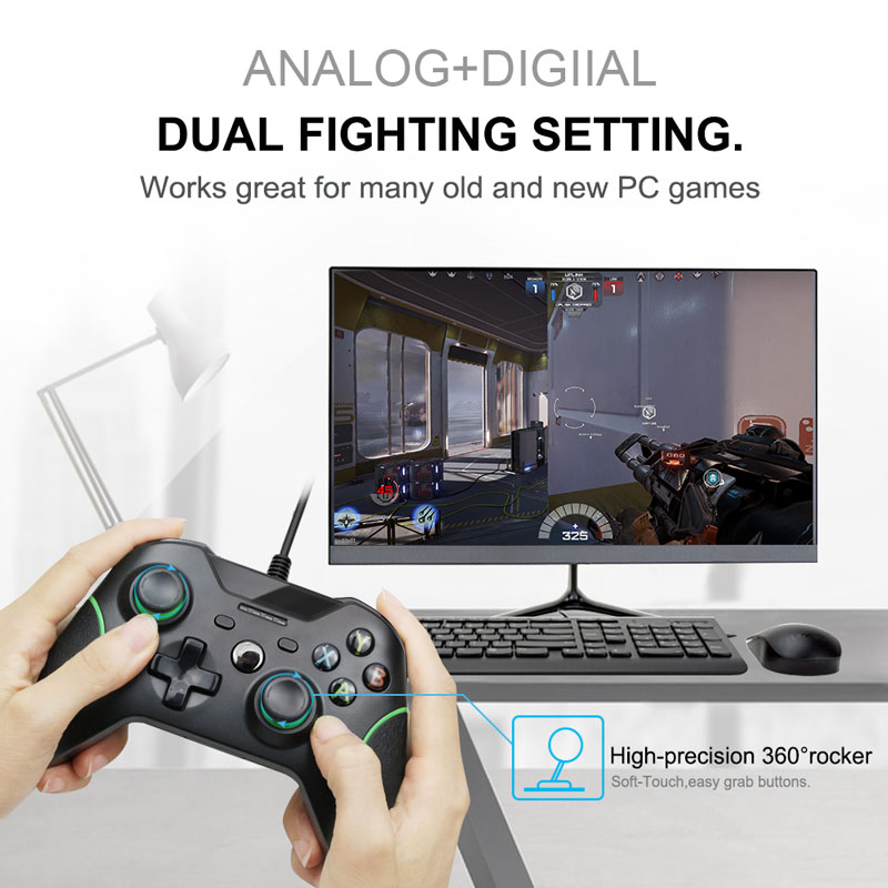 USB Wired Controller For Xbox One Video Game JoyStick Mando For Microsoft Xbox One Slim Gamepad Controle Joypad For Windows PC enlarge
