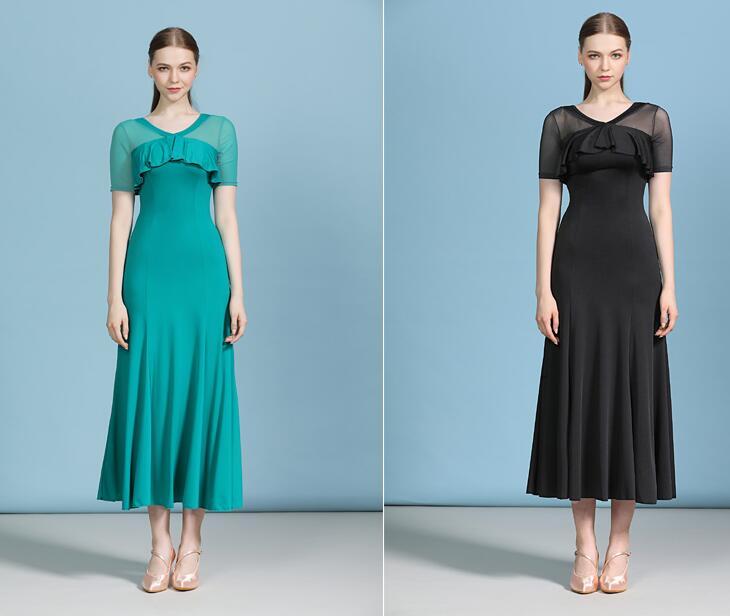 Estándar de baile vestido de baile estándar abito ballo estándar donna barato...