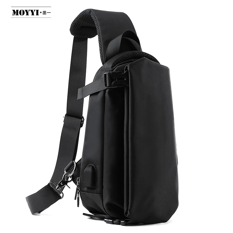 Chest Bag Male Functional Style Street Shoulder Messenger Trend Simple Travel Casual Men