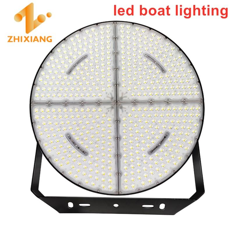 usando no barco luzes de pesca 1200w pesca atractor sobre a lampada de agua