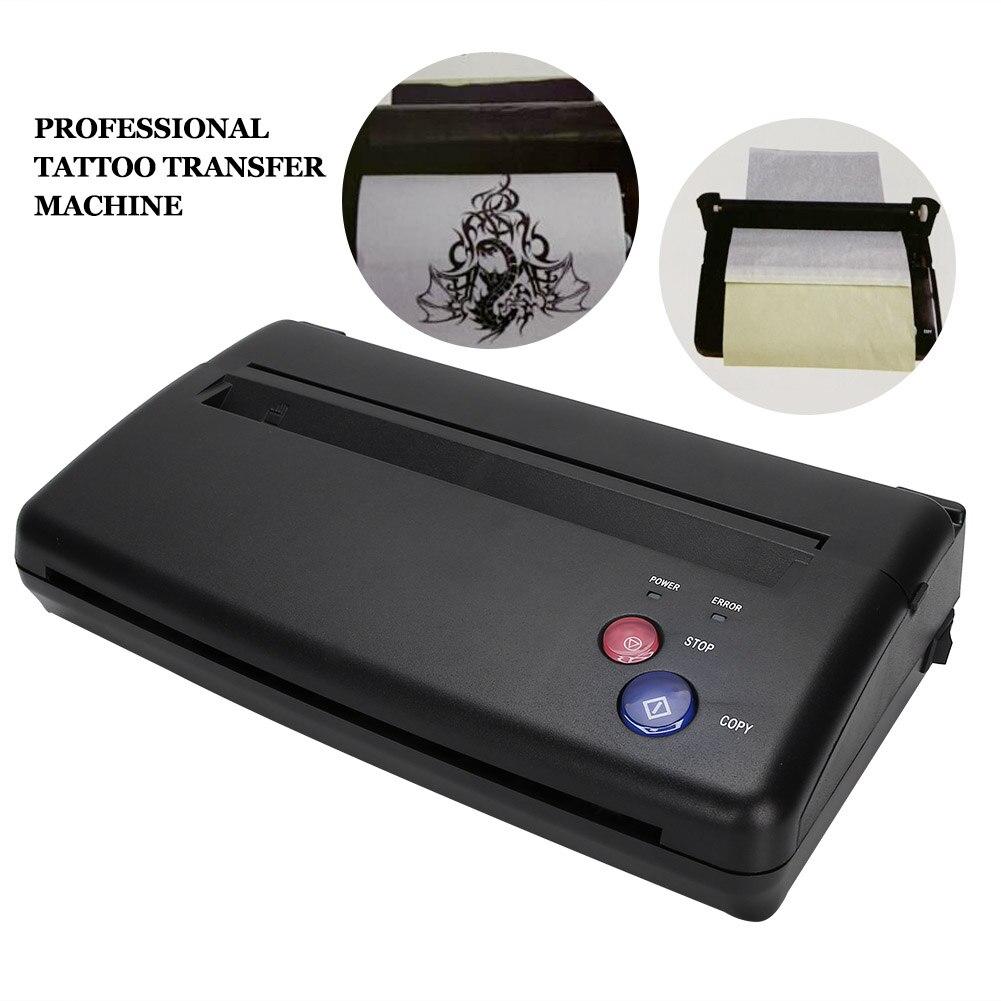 Tattoos Transfer Stencil Machine Mini Thermal Copier Printer Drawing Thermal Tools Tattoo Photos Transfer Device Permanet Makeup