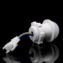 2 x 25mm LED PIR Detector Infrared Motion Sensor Switch w/Time Delay Adjustable 35ED