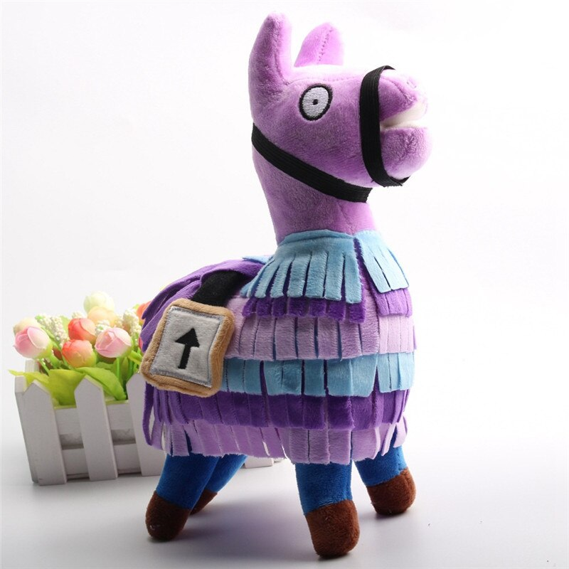 Troll Stash Llama Plush Toy Game Alpaca Rainbow Horse Stash Stuffed Doll Toys Kids Birthday Christmas Gift