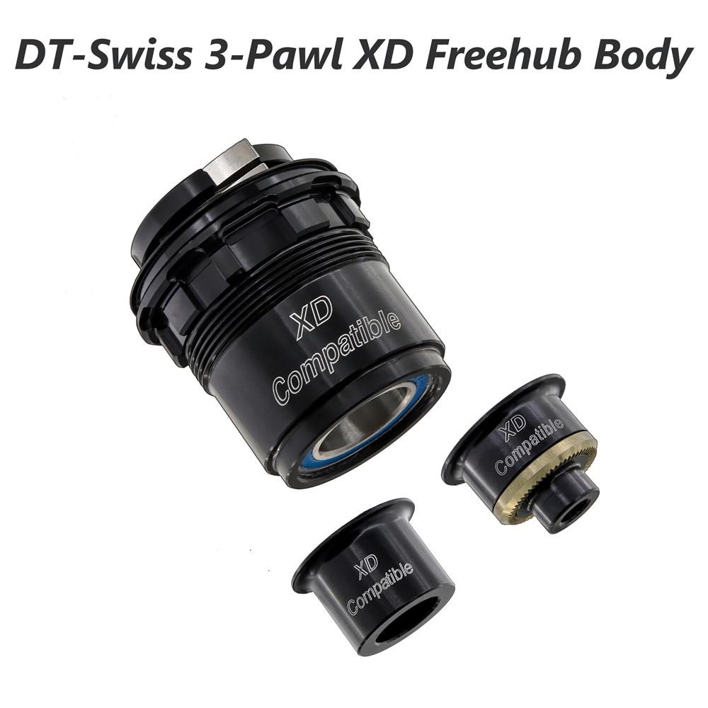 XD freehub الجسم ل DT السويسري 3-Cubos الدقرة محور DT X1900 X1800 DT370 135x10 12 X142/148 مللي متر