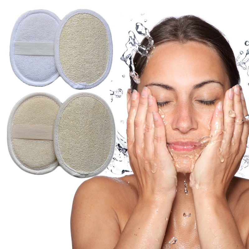 Face Cleaning Scrub Wash Flutter Bathroom Accessories Towel Exfoliator Skin Deep Washing Massage Dro