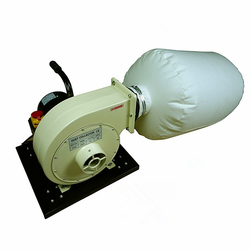 Mini aspiradora de carpintería, equipo colector de polvo, maquinaria industrial para fresadora CNC, máquina perforadora