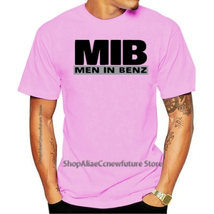 2021 Leisure Fashion 100% Cotton O-neck T-shirt Homem No Benz Mib Cls Gla Carro Auto Divertido fã Neu xs/5xl 02