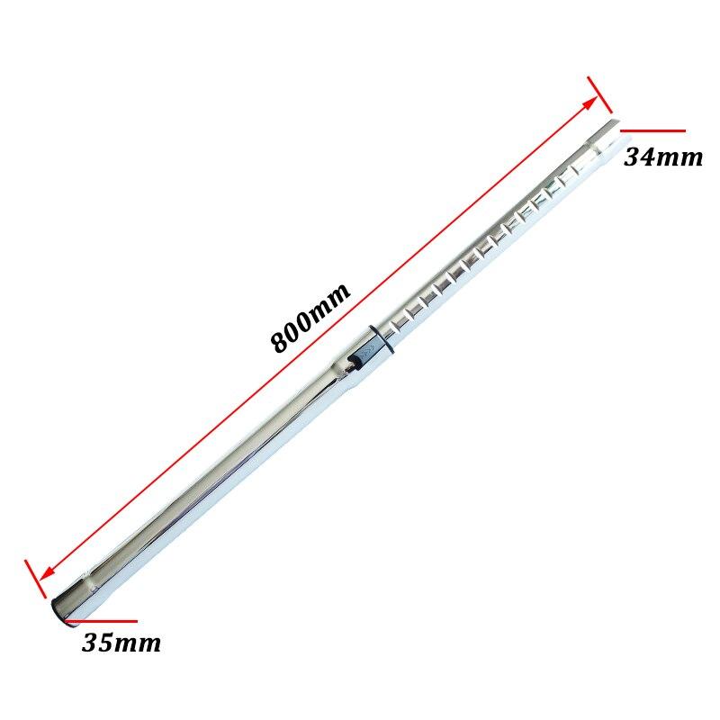 Manguera de tubo de extensión de repuesto de 32mm / 35mm para Robot Samsung Philips Electrolux, accesorio de repuestos de aspiradora