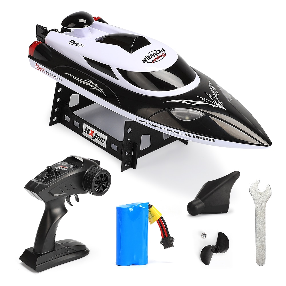 High Speed RC racing Boat 35km/h 200m Control Distance Fast Ship With Water Cooling System High-speed boat enlarge