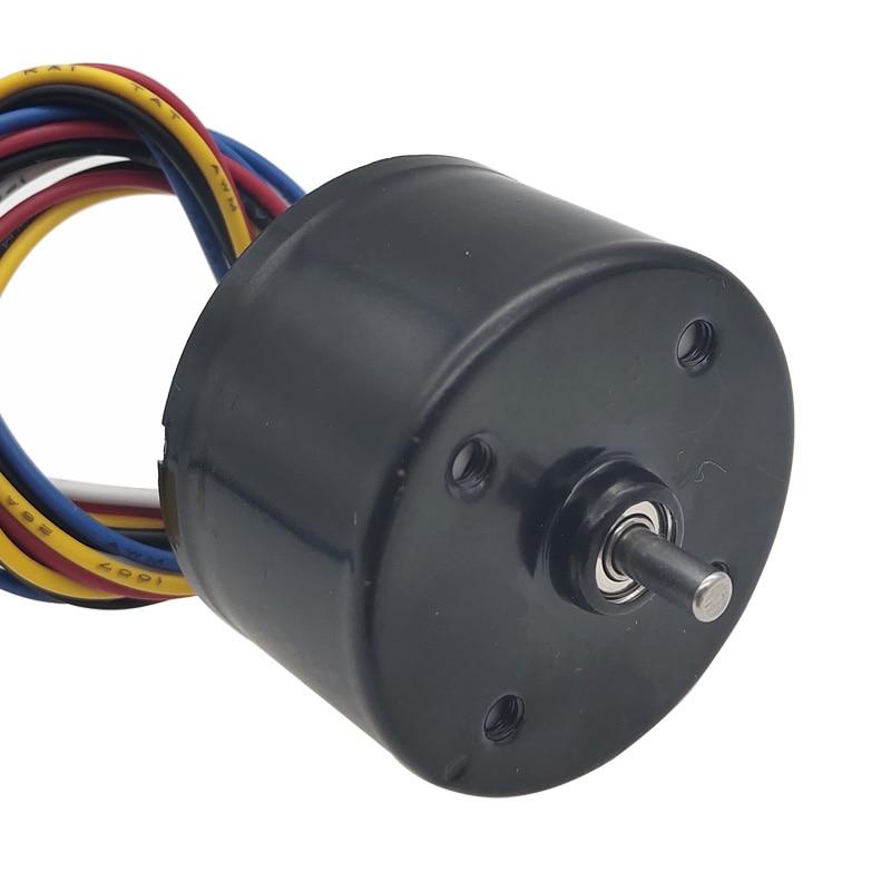 3525 Micro Mini Brushless 12V 24V DC High Speed Motors 12 Volt Reversed 3000/6000RPM In BLDC DC Motor With PWM Speed Regulation