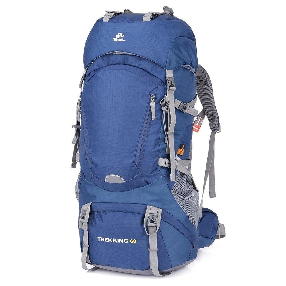 50l & 60L Waterproof Hiking Backpack Woman Outdoor Trekking Camping Bag Army Man Hunting Mountain Backpacks Rain Cover Rucksack
