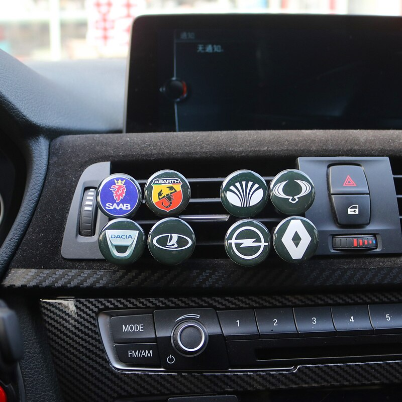 1PCS Car Air Freshener Smell in Car Styling Air Perfume for VW Mitsubishi opel benz saab audi toyota Hyundai Chevrolet Ssangyong