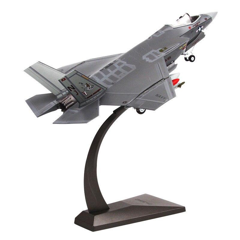 172 US Air Force F35 F-35 Stealth fighter Modell Metall flugzeug Militär flugzeug Militär enthusiasten sammlung modell flugzeug