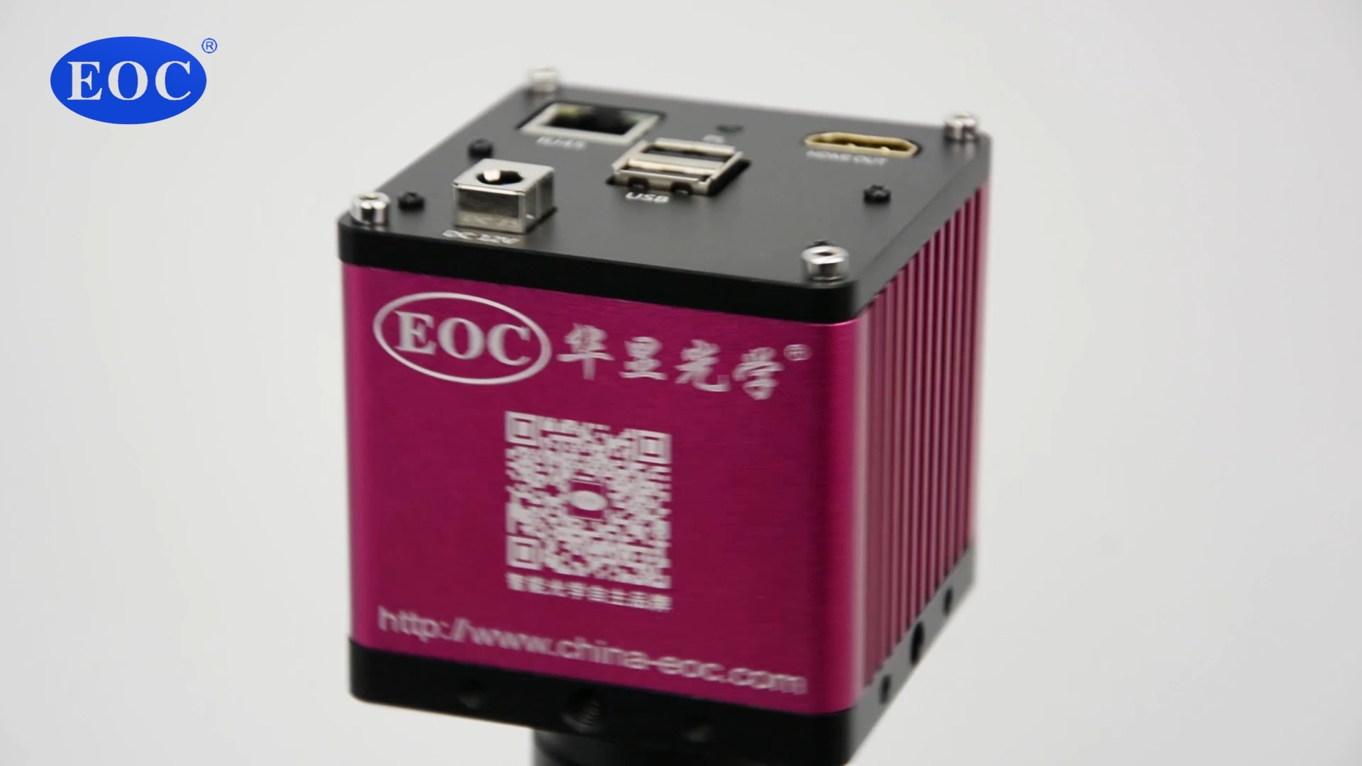 EOC 5MP صناعة كاميرا CCD وظيفة قياس HDMI متوافق والكمبيوتر ربط شاشة مراقبة الإلكترونية الرقمية مجهر الفيديو