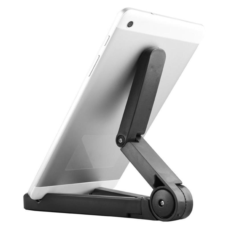Soporte ajustable de la tableta del teléfono soporte de la tableta del ángulo plegable para el iPad iPhone Nexus Kindle