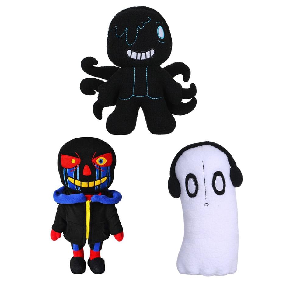 Undertale Plush Toy 20-30cm Undertale Sans Papyrus Alphys Plush Stuffed Toys Doll Children Kids Gift Peluches Pulpos Plush Toys недорого