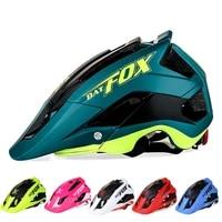 batfox men women cycling helmet integrally molded super light mtb mountain road bicycle helmet 56 63cm 2021