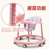 baby walker 67 18 months anti rollover children can walk can sit boys babies toddlers multifunctional girls