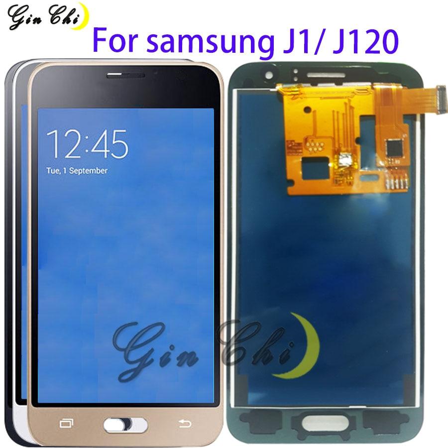 TFT для Samsung Galaxy J1 2016 LCD сенсорный экран J120 LCD сенсорный дигитайзер Сенсорное стекло J120F ЖК-дисплей J120H J120 экран J120M